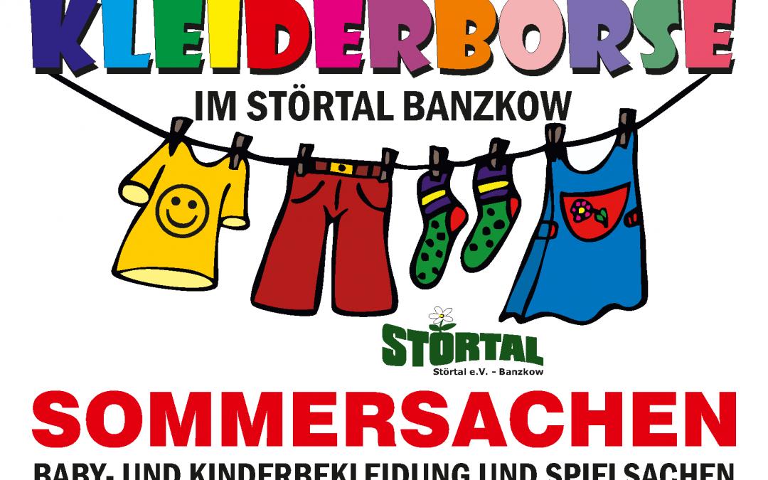 Kleiderbörse Sommersachen Baby- und Kinderbekleidung und Spielsachen am 14.03.2020