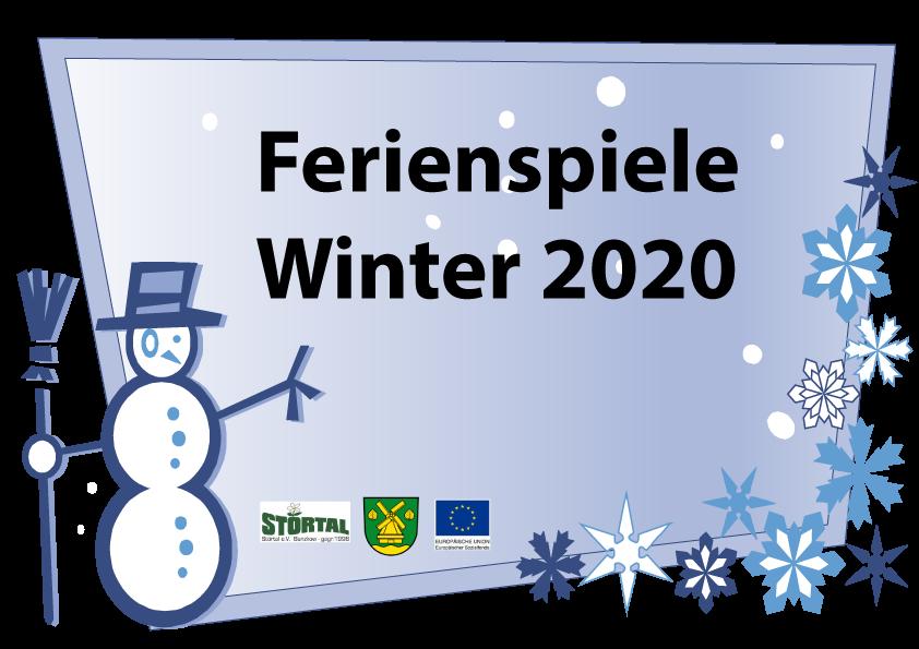 Ferienspiele Winter 2020